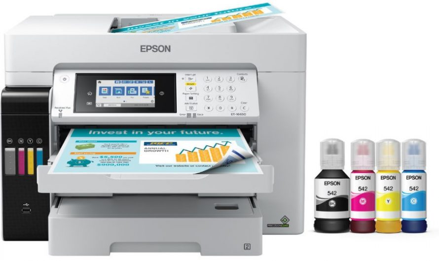 Epson EcoTank Pro ET-16650 Review: Pros and Cons