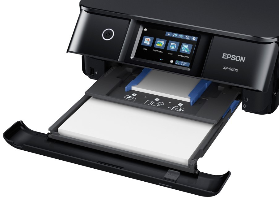 Epson Expression Photo XP-8600 Paper Capacity