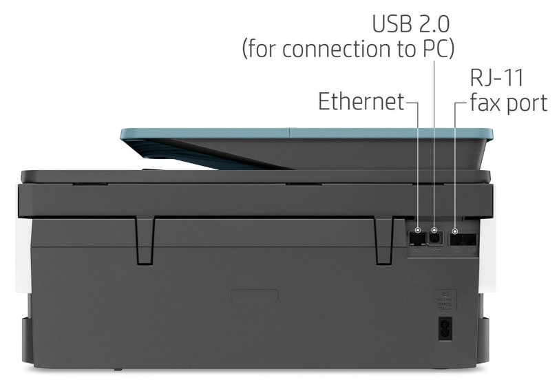 HP OfficeJet Pro 8028 Connectivity Options