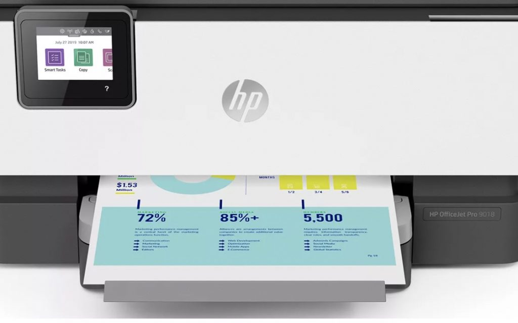 HP OfficeJet Pro 9018 Output Quality